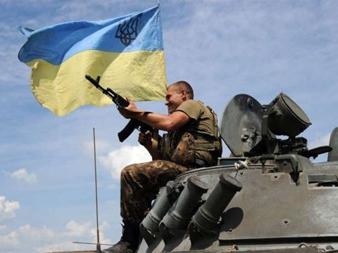 Five Ukrainian soldiers wounded in ATO area in past day