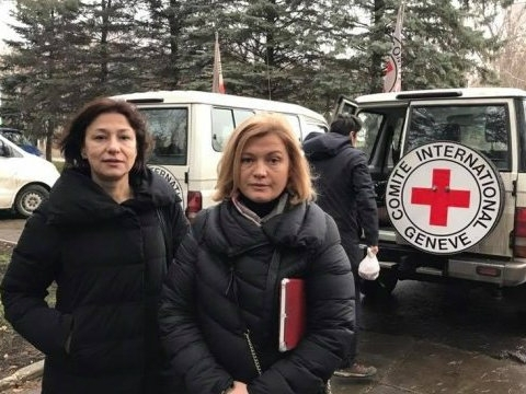 ICRC employees allowed to speak freely with those who will be exchanged